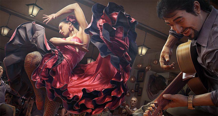 Flamenco_3d
